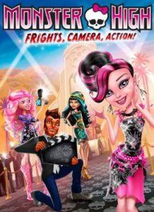 فيلم كرتون مدرسة الوحوش العليا Monster High Frights Camera Action! 2014 مدبلج للعربية