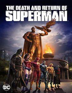 فيلم انيميشن The Death and Return of Superman 2019 موت وعودة سوبرمان مترجم